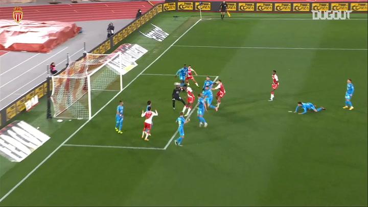 Aurélien Tchouaméni's first Monaco goal