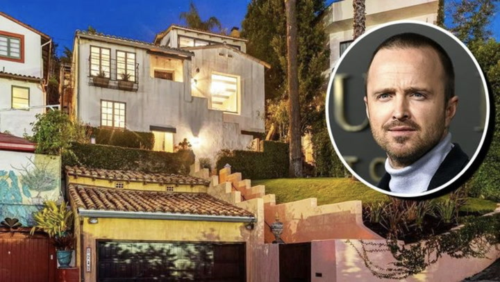 'Breaking Bad' Star Aaron Paul Lists Stylish Home With Star-Studded History