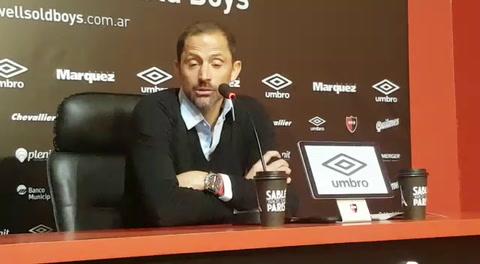 Peratta: El fútbol es el club entero y pensaré 24 horas en eso