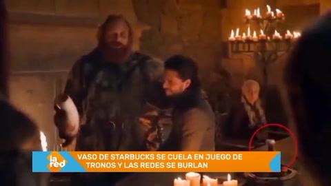 Vaso de Starbucks se cuela en Juego de Tronos y las redes se burlan
