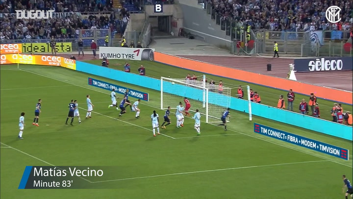 Inter's last minute goals at Lazio