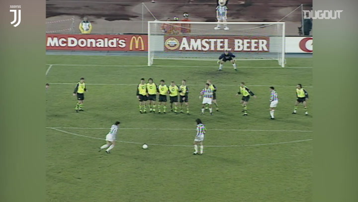Alessandro Del Piero's best Champions League free-kicks