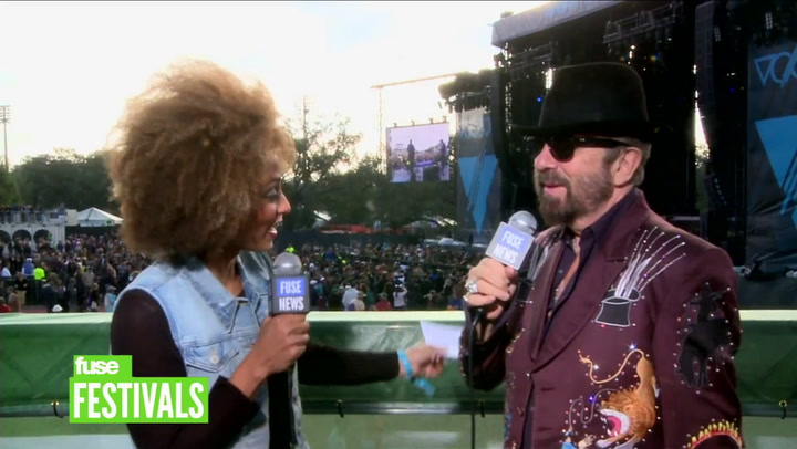Festivals: Voodoo 2012:  Eurythmics' David A. Stewart on Joining Soul Rebels Onstage