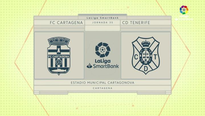 LaLiga Smartbank (Jornada 35): Cartagena 0-0 Tenerife