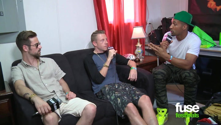 "Festivals: Bonnaroo 2013: Macklemore on New Book Project: ""Writing is Just Therapeutic for Me"""