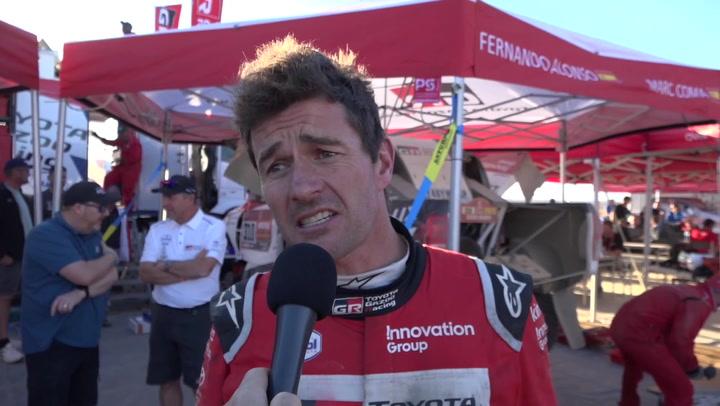 Marc Coma explica el accidente sufrido en la 2ª etapa: