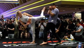 UFC 239 open workouts: Holm wants to shock her naysayers