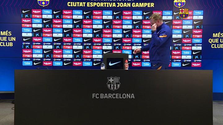 La rueda de prensa de Ronald Koeman previa al partido contra el Sevilla (Completa)