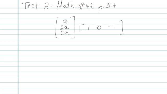 Test 2 - Math - Question 42