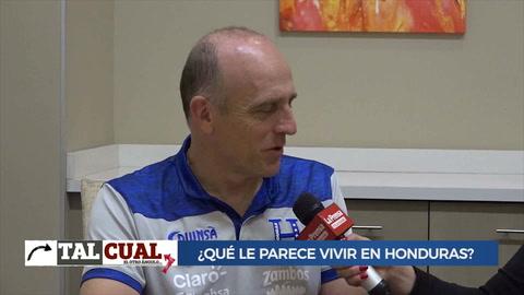 Tal Cual con Fabián Coito, técnico de la Selección de Honduras