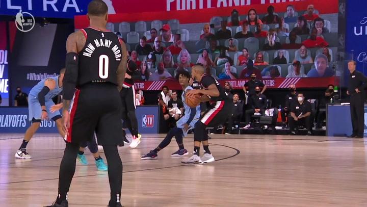 Las 5 mejores jugadas de la jornada de la NBA del 15 de agosto 2020