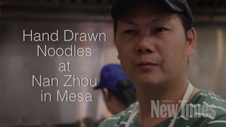 How a Mesa Chinese Restaurant Hand-Pulls Its Own Noodles