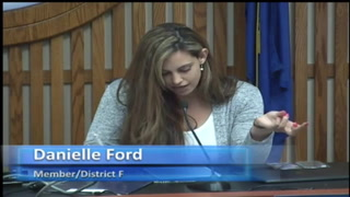 Danielle Ford's remarks at School Board Meeting April 11, 2019