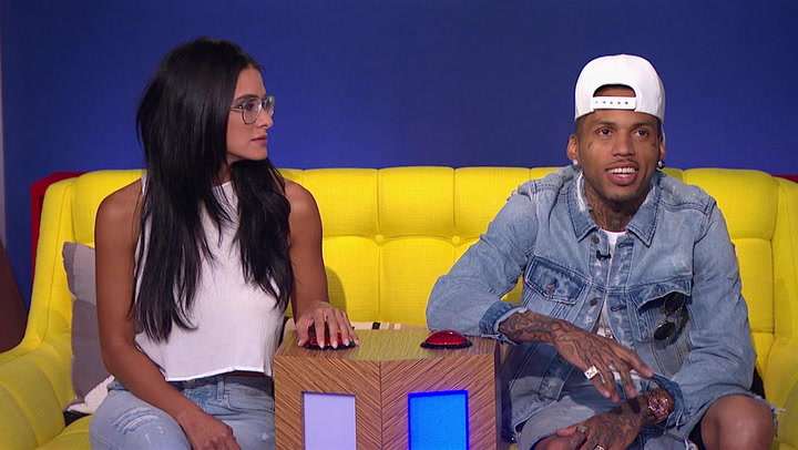 Kid Ink and Brittany Furlan Get Quizzed on Zayn's Music and Tattoos: Trivial Takedown Sneak Peek