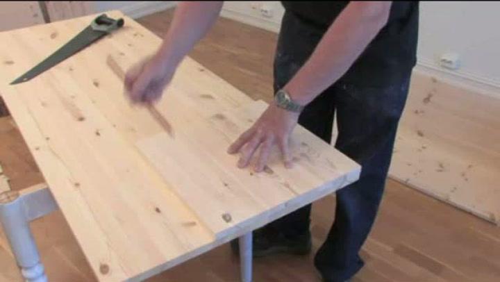 Hvordan bygge en perfekt tv-benk - 1 av 3