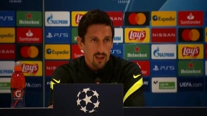 Savic habla sobre jugar en Bucarest y no en el Metropolitano
