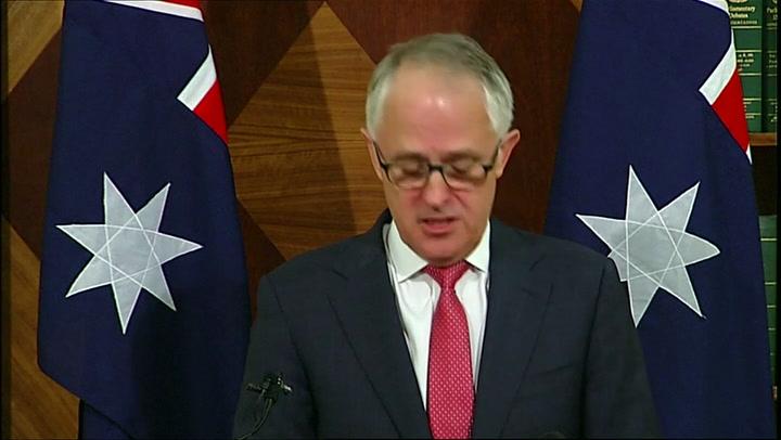 Premier Australië spreekt over schietpartij