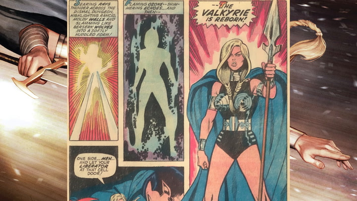 Comic Book Origins Valkyrie