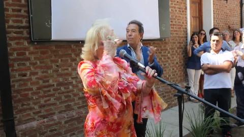 Mirtha Legrand recibió un emotivo homenaje en su Villa Cañás natal