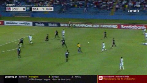 Gol de Jordan Morris al Olimpia (Concachampions)