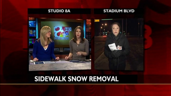 Columbia Searches For Sidewalk Snow Removal Volunteers