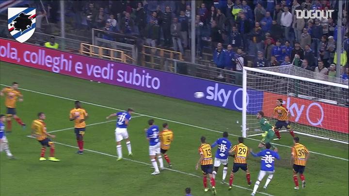 Gaston Ramirez's last-gasp equaliser Vs Lecce