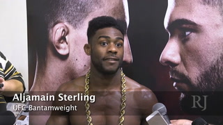 Weighing in with Aljamain Sterling – A look at weight cutting in the UFC