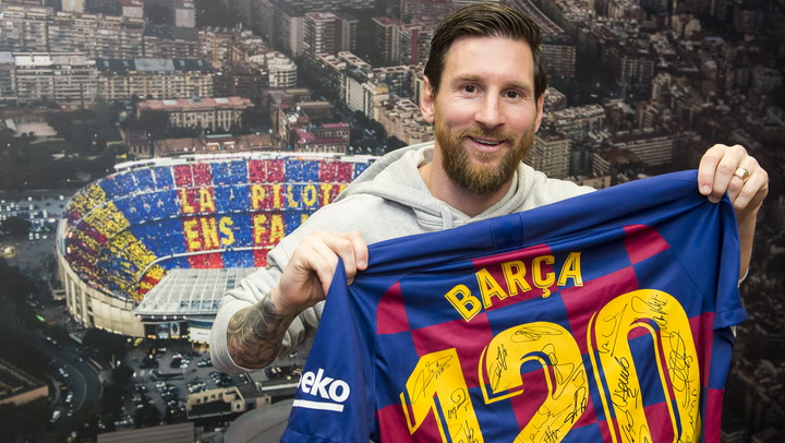 Leo Messi opina sobre Lautaro y la vuelta de Neymar