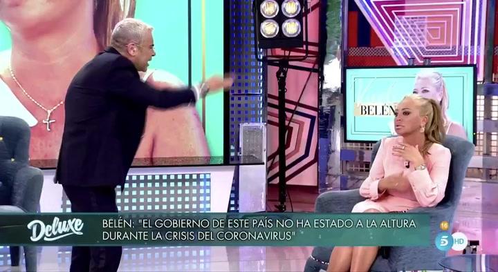 Bronca entre Jorge Javier Vázquez y Belén Esteban