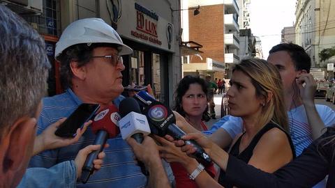 Un escape de gas en pleno centro rosarino causa pánico entre los vecinos