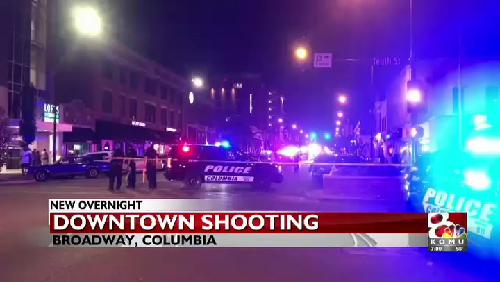 Downtown Columbia Shooting