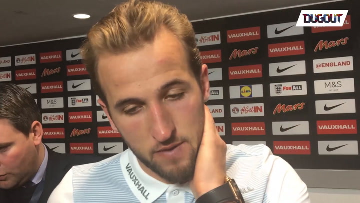 England Captain Kane: Proudest moment of my life