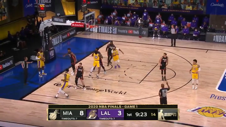 Anthony Davis jugador destacado de la jornada de la NBA (30/09/2020)