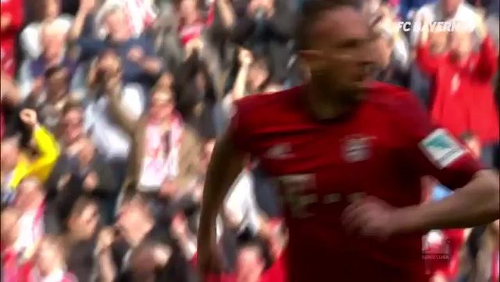 Ribéry's Best Ever Overhead Kick vs Frankfurt