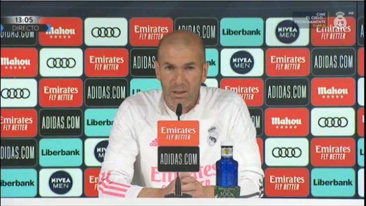 Zidane sobre el VAR  y la jugada polémica: