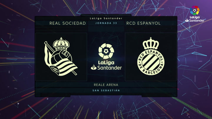 LaLiga Santander (Jornada 33): Real Sociedad 2-1 Espanyol