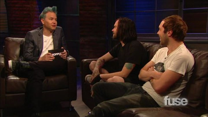 """Shows: Hoppus on Music: The Used Have Kissed Onstage """"Tons of Times"""""""