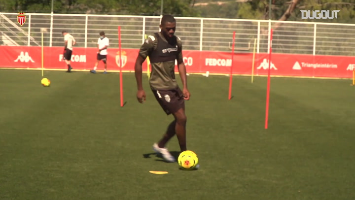 Watch AS Monaco's latest training session in la Turbie