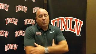 UNLV coach Tony Sanchez on upcoming season