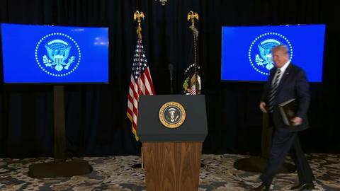 Trump se unirá a Macron en videoconferencia para coordinar ayuda a Líbano