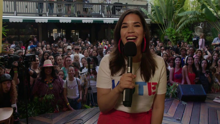 Head to the Polls with America Ferrera