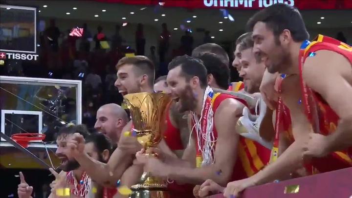 Así levantó España su segundo trofeo de Campeones del Mundo