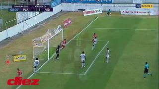 Ángel Tejeda llega a cerrar y pone el empate del Vida ante el Platense
