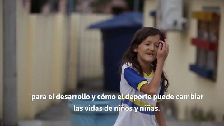 La Fundació Barça y Unicef, juntos para impulsar el deporte como herramienta social