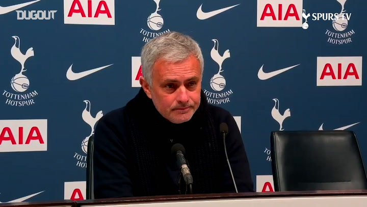 Mourinho: 'If we win two matches we win the trophy'