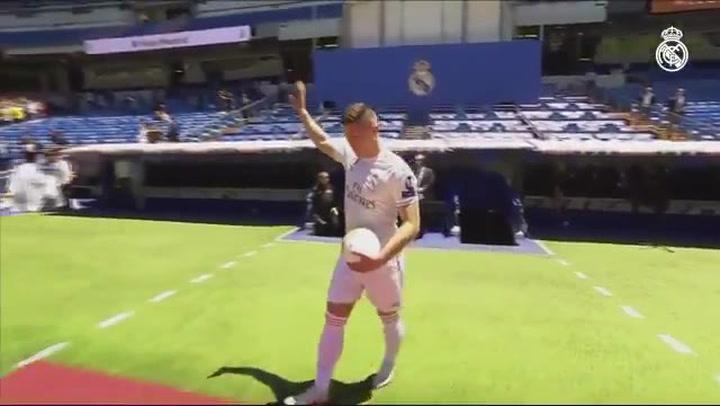 Presentación de Luka Jović como nuevo jugador del Real Madrid