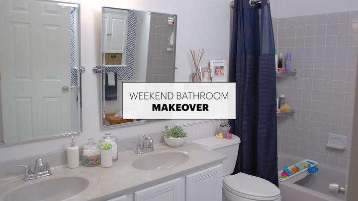 Superb Before u After A Beautiful Bathroom Makeover in Just Weekend Apartment Therapy