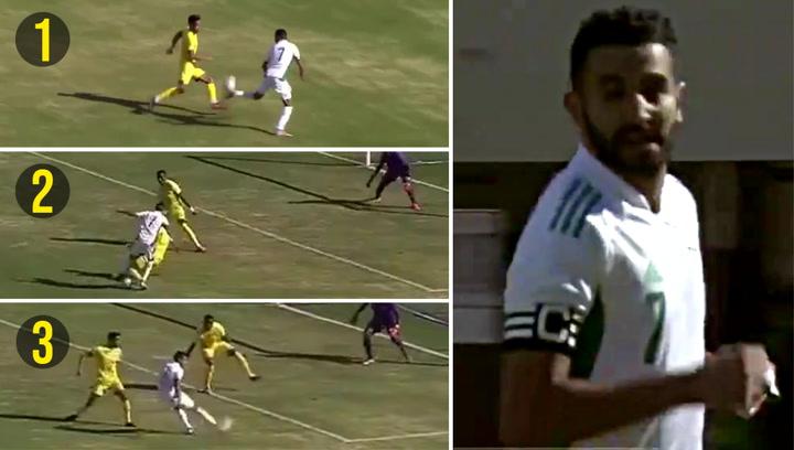 ¿Candidato al premio Puskas? El colosal golazo de Mahrez con Argelia
