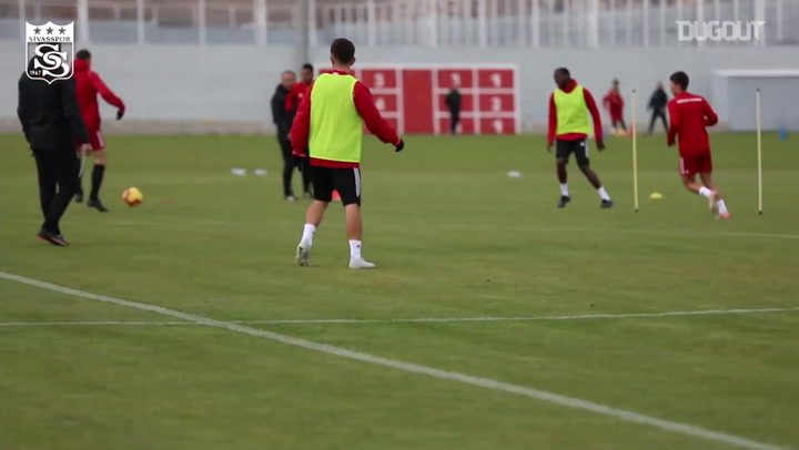 Sivasspor Training Drills Intensify