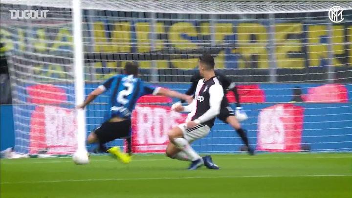 Kompilasi Momen Terbaik Diego Godín di Inter